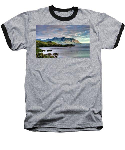 He'eia Fish Pond And Kualoa Baseball T-Shirt