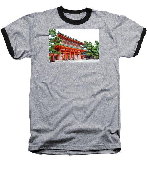 Heian Shrine And Okazaki Park  Baseball T-Shirt by Eva Kaufman
