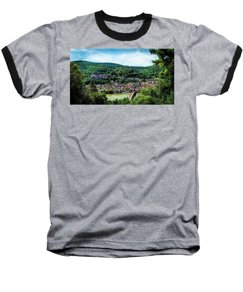 Baseball T-Shirt featuring the photograph Heidelberg Germany by David Morefield