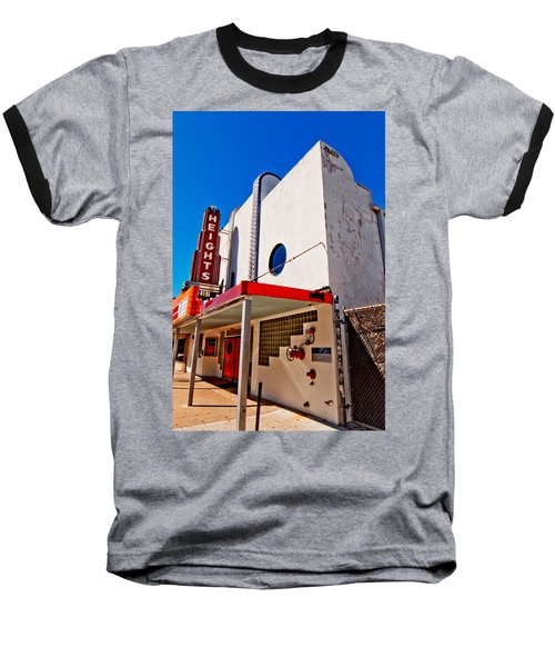 Heights Movie Theater Baseball T-Shirt