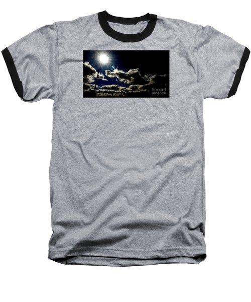 Heinlein's Horizon Baseball T-Shirt by Jesse Ciazza