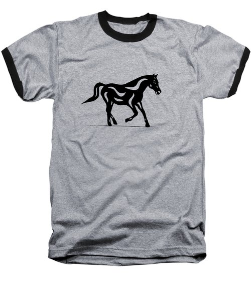 Heinrich - Abstract Horse Baseball T-Shirt