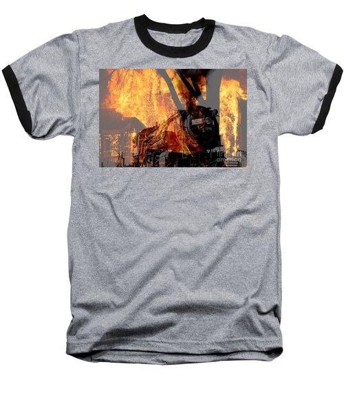 Hell Train Baseball T-Shirt