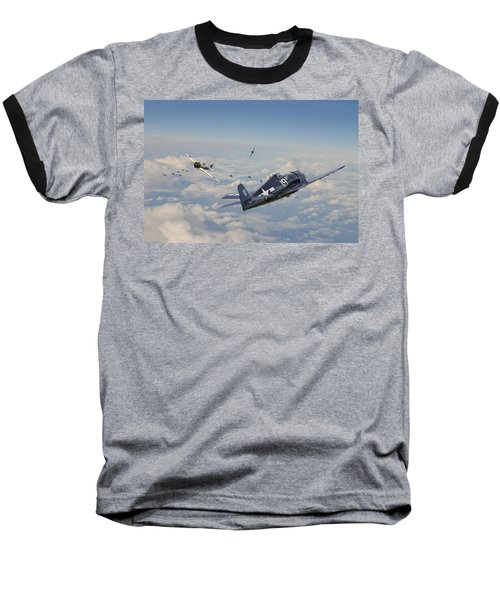 Hellcat F6f - Duel In The Sun Baseball T-Shirt