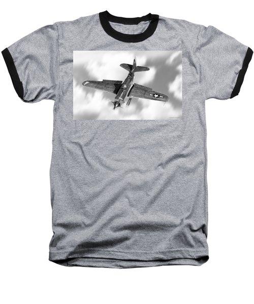 Helldiver Baseball T-Shirt by Douglas Castleman