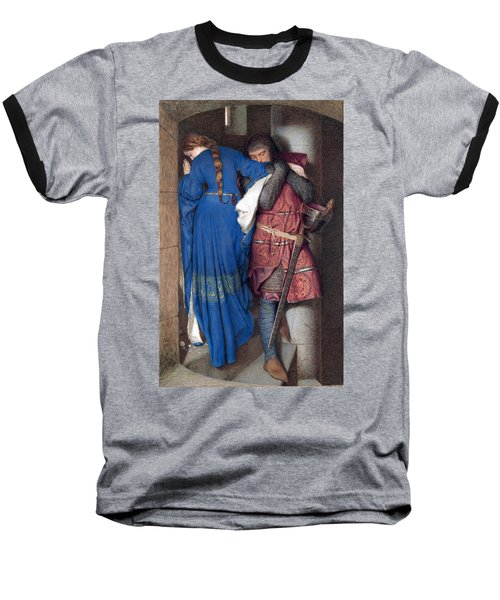 Hellelil And Hildebrand Or The Meeting On The Turret Stairs Baseball T-Shirt