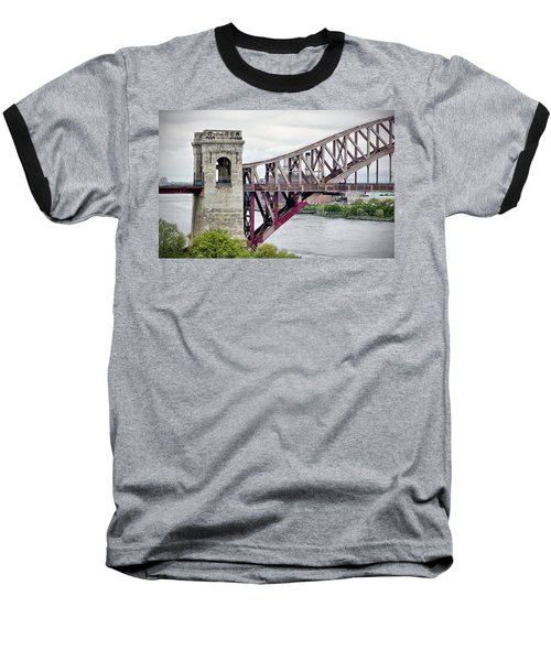 Hellgate In Grey Baseball T-Shirt