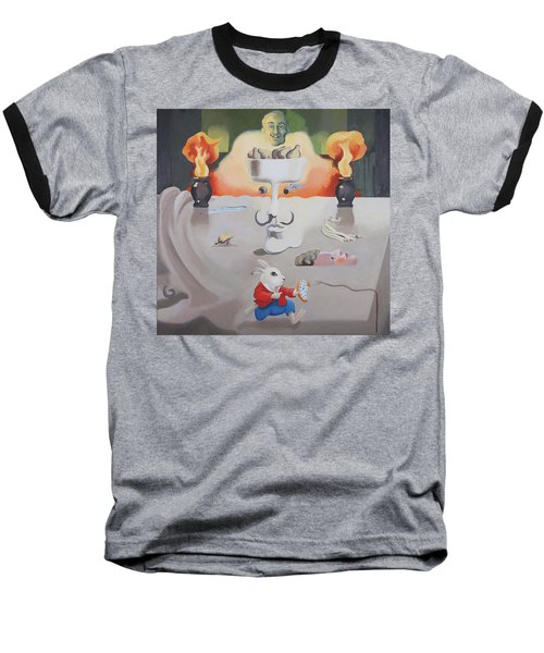 Hello Dali Baseball T-Shirt
