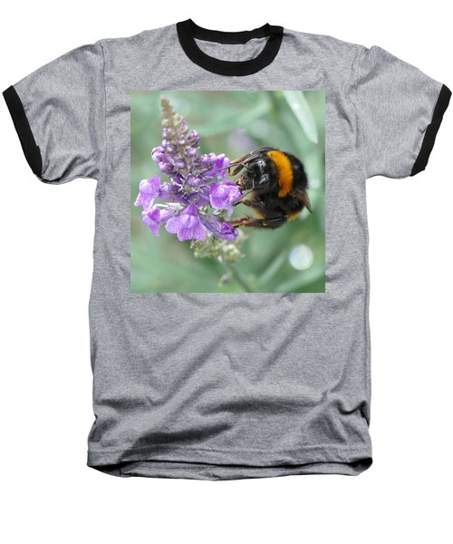 Baseball T-Shirt featuring the photograph Hello Flower by Ivana Westin