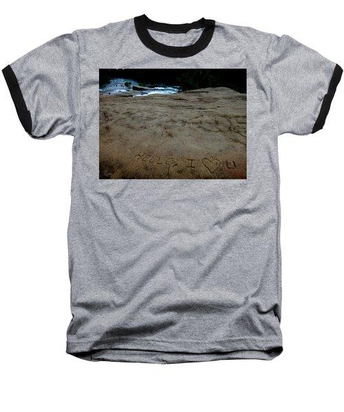 Hello I Heart U Baseball T-Shirt