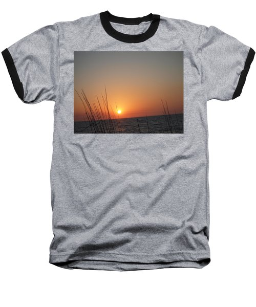 Baseball T-Shirt featuring the photograph Hello Night by Robert Margetts