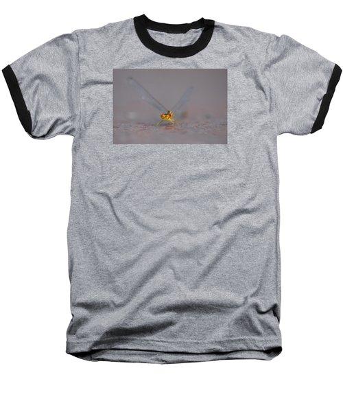 Baseball T-Shirt featuring the photograph Hello by Ramona Whiteaker