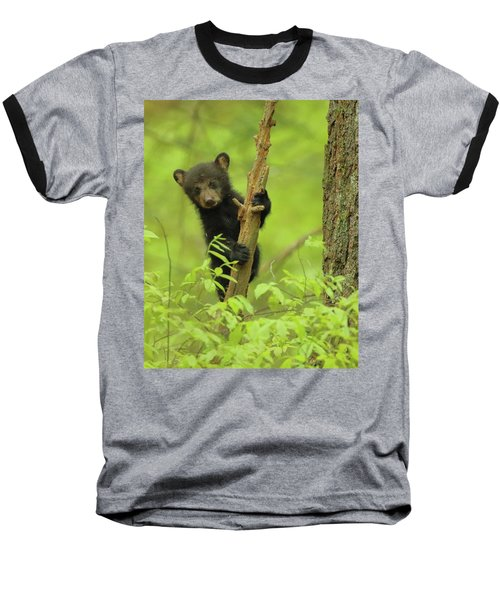 Baseball T-Shirt featuring the photograph Hello There by Coby Cooper