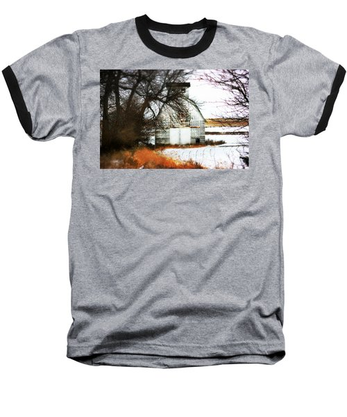 Baseball T-Shirt featuring the photograph Hello There by Julie Hamilton