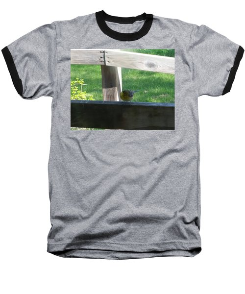 Baseball T-Shirt featuring the photograph Hello by Wendy Shoults