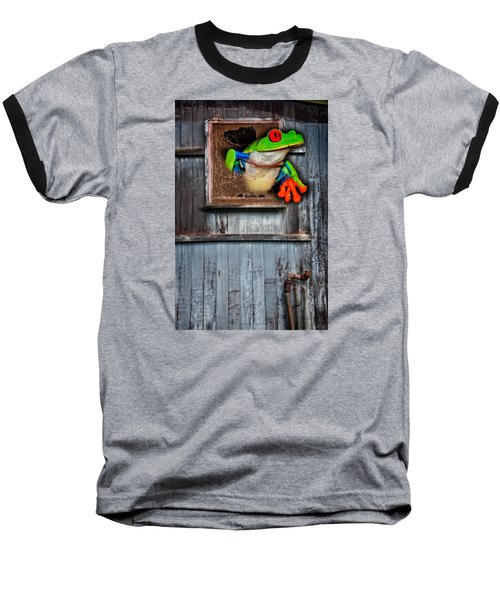 Hello World Baseball T-Shirt