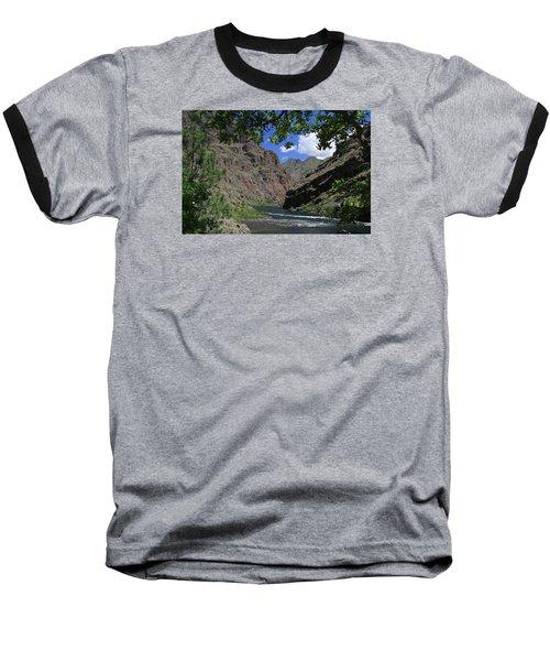 Hells Canyon Snake River Baseball T-Shirt