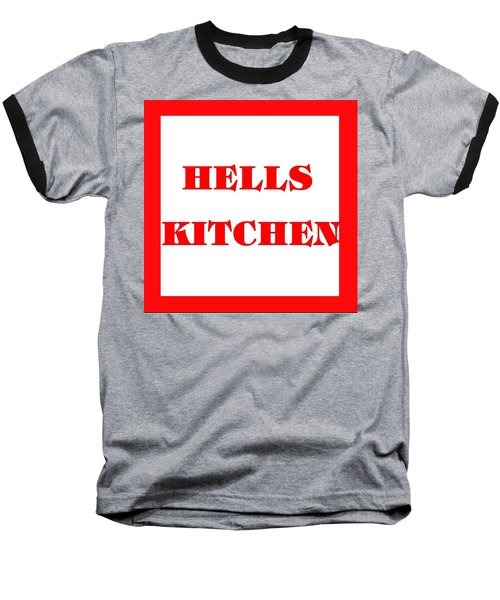 Hells Kitchen Red Baseball T-Shirt