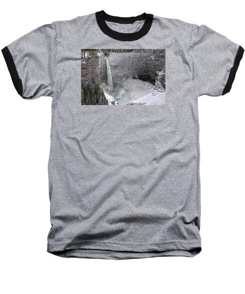 Helmcken Falls Baseball T-Shirt by Ed Hall