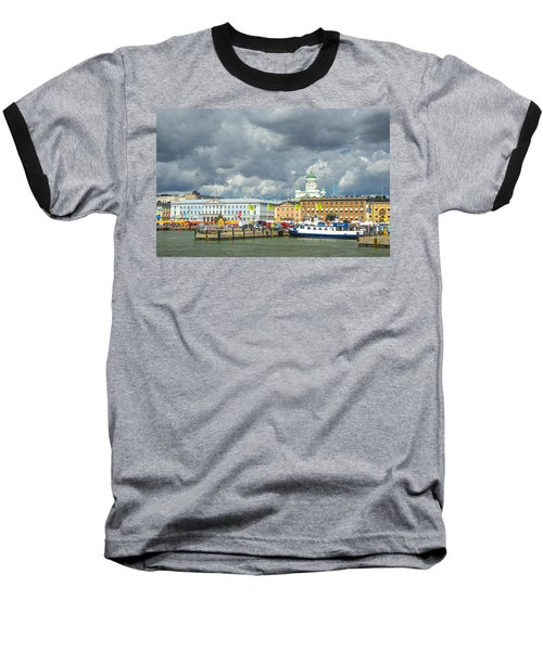 Helsinki, South Harbor Baseball T-Shirt