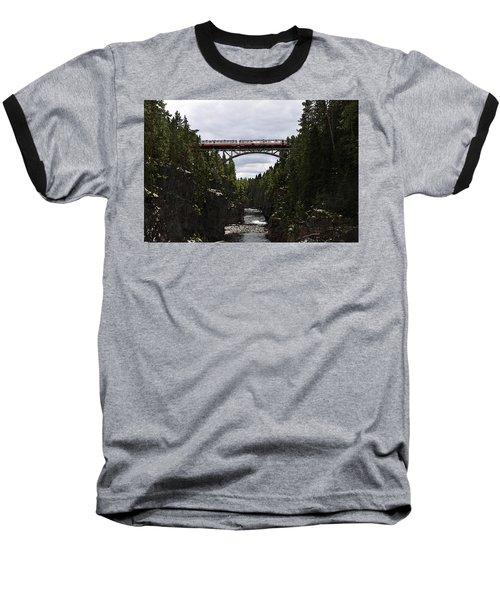 Helvetefallet Dalarna Sweden Baseball T-Shirt