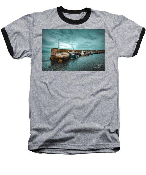 Helvick Harbour 2 Baseball T-Shirt