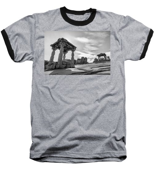Hemakuta Hill, Hampi, 2017 Baseball T-Shirt by Hitendra SINKAR