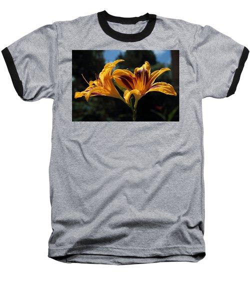 Hemerocallis Baseball T-Shirt