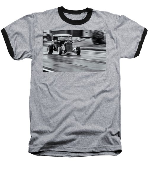 Hemi Powered 1932 Ford 5 Window Coupe Baseball T-Shirt by Ken Morris