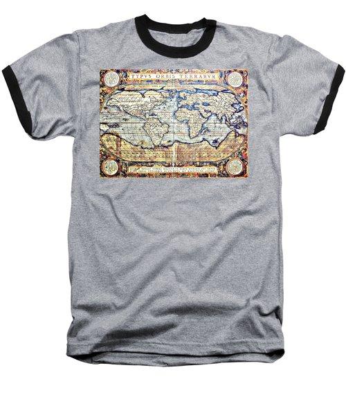 Hemisphere World  Baseball T-Shirt