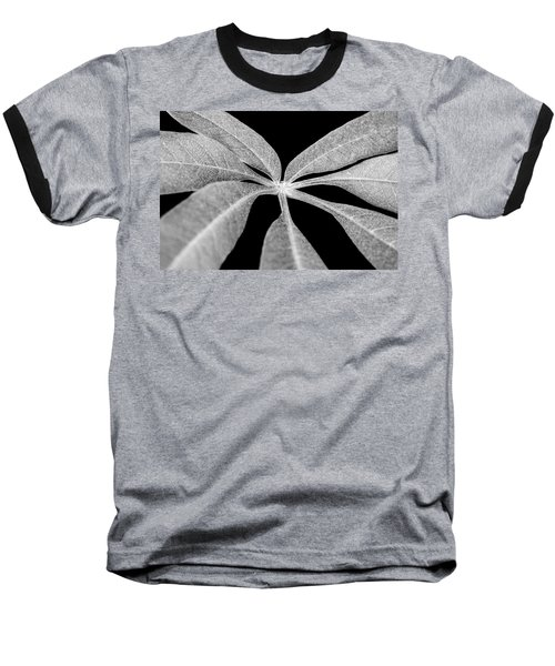 Hemp Tree Leaf Baseball T-Shirt