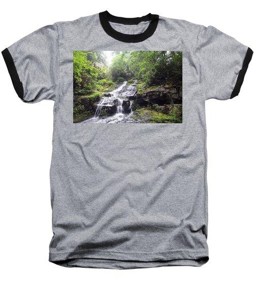 Hen Wallow Falls Great Smoky Mountains National Park Baseball T-Shirt