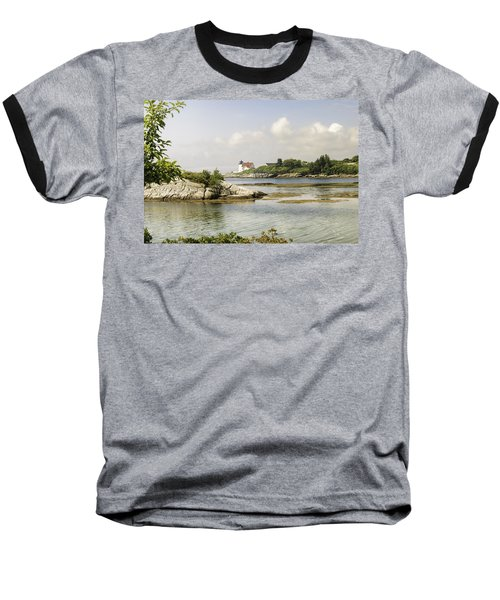 Hendricks Head Lighthouse Baseball T-Shirt