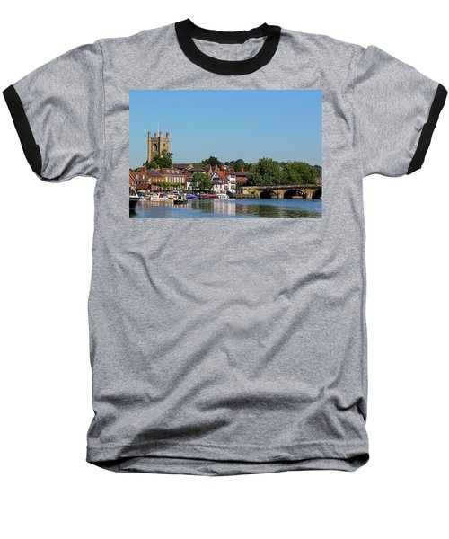 Henley On Thames Baseball T-Shirt by Ken Brannen