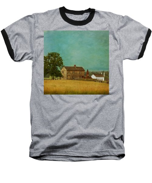 Henry House At Manassas Battlefield Park Baseball T-Shirt