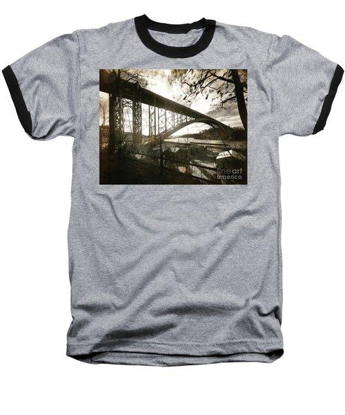 Henry Hudson Bridge, 1936 Baseball T-Shirt