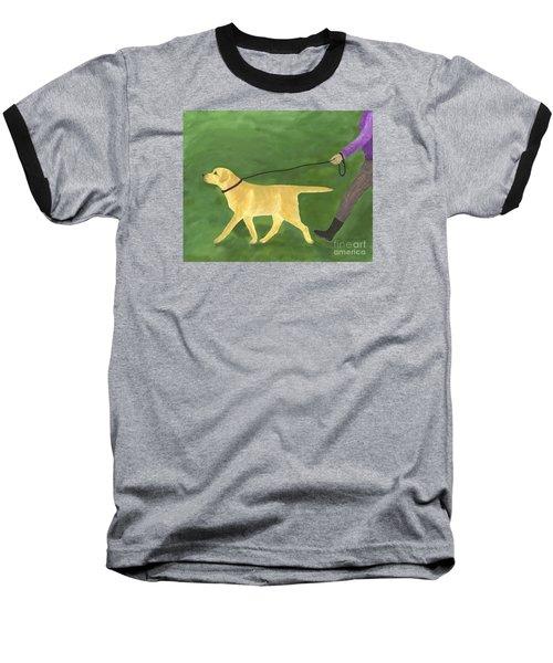 Her Dog Took Her Everywhere Baseball T-Shirt