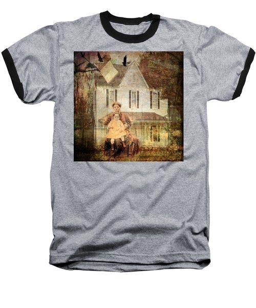 Her Memories Are Written Baseball T-Shirt by Bellesouth Studio