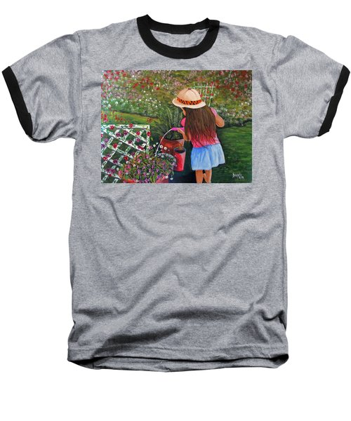 Her Secret Garden Baseball T-Shirt