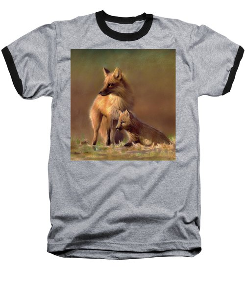 Her Watchful Eye Baseball T-Shirt