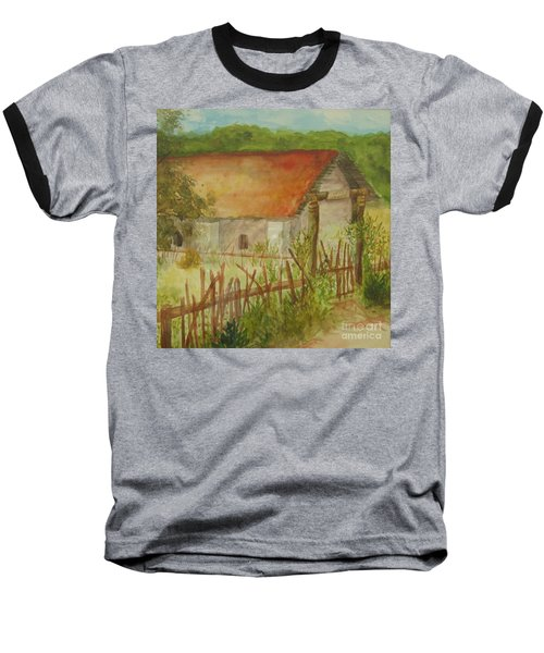 Baseball T-Shirt featuring the painting Herb Garden by Vicki  Housel