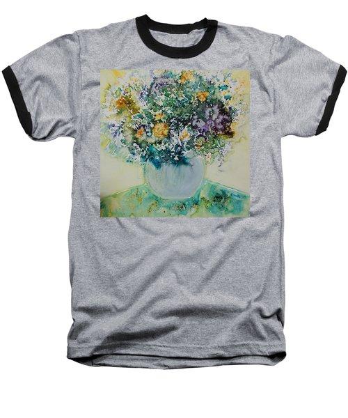 Herbal Bouquet Baseball T-Shirt