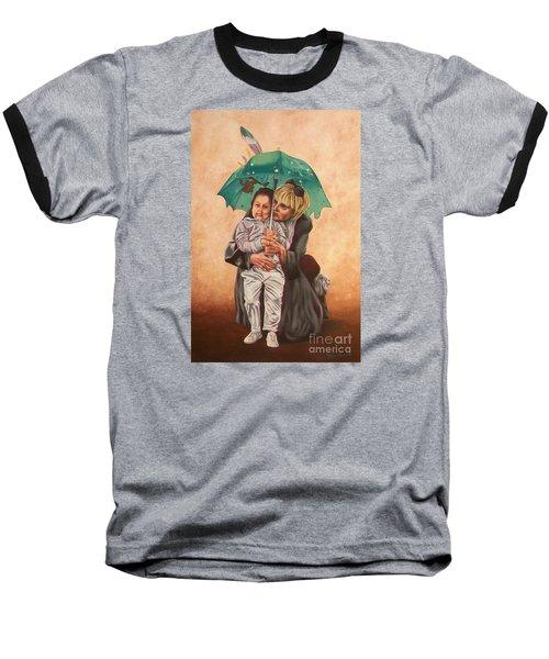 Here Comes The Rain - Aqui Viene La Lluvia Baseball T-Shirt