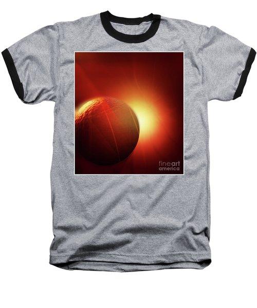 Here Comes The Sun Baseball T-Shirt by John Krakora