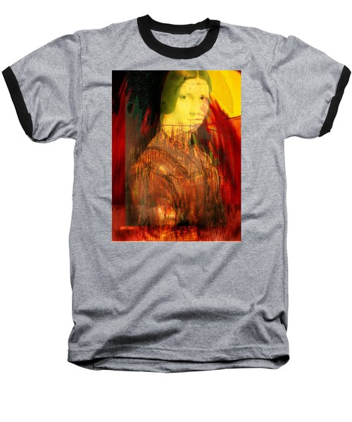 Here Is Paint In Your Eye Baseball T-Shirt by Seth Weaver