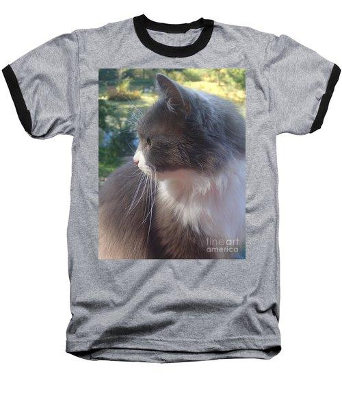 Here Kitty Baseball T-Shirt