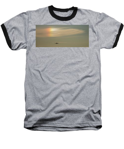 Here We Go Into The Wild Blue Yonder Baseball T-Shirt