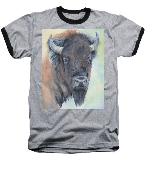 Here's Looking At You - Bison Baseball T-Shirt