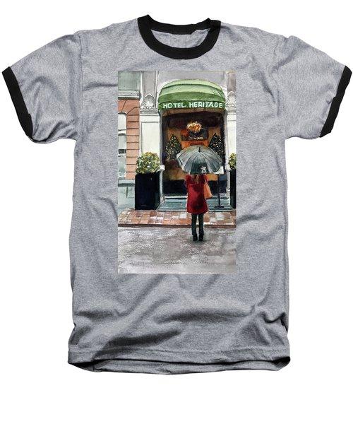 Heritage Hotel Baseball T-Shirt