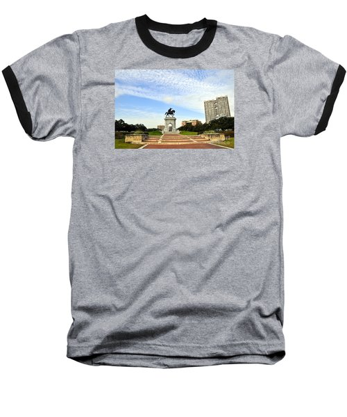 Herman Park 3 Baseball T-Shirt